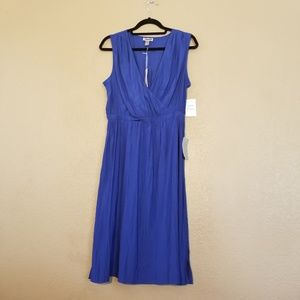 Chelsea 28 Size M Blue Fitted Tank Dress NWT it